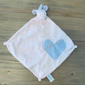 Angel Dear | Pink & Purple Unicorn Heart Lovey